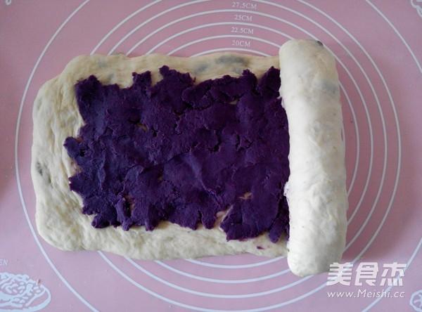 紫薯葡萄干吐司怎样煸
