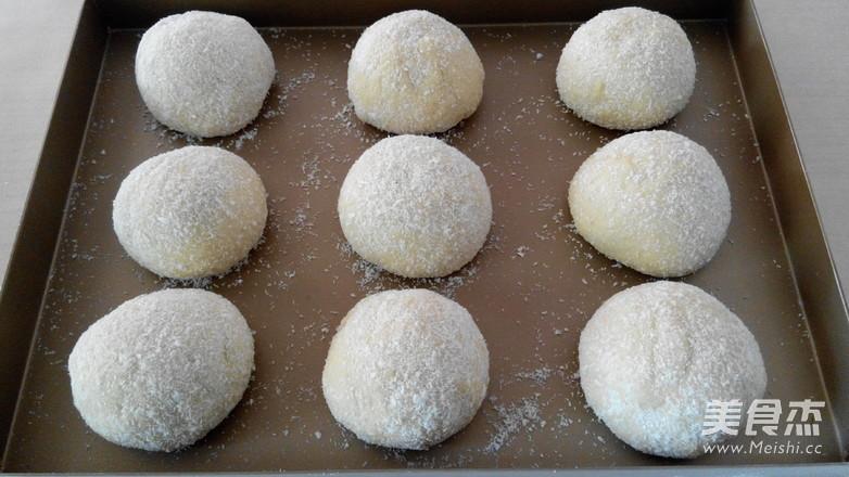 椰蓉果酱面包怎样炒