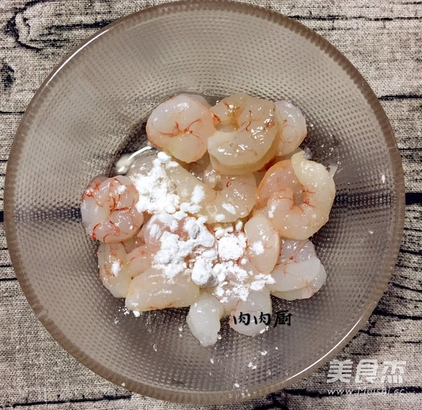 正宗粤菜之韭黄虾仁炒滑蛋肉肉厨的家常做法