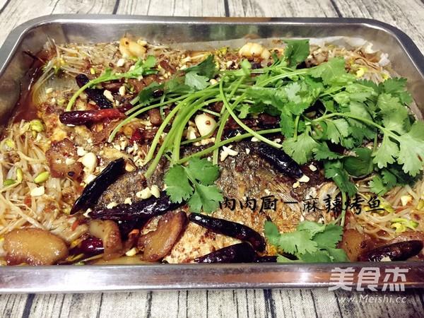 正宗重庆万州烤鱼肉肉厨的制作