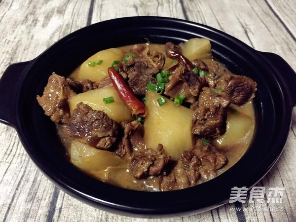 萝卜牛腩煲肉肉厨的制作大全