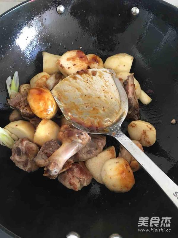 鸭肉香芋煲怎么吃