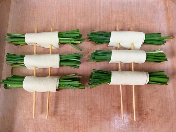 豆腐皮韭菜卷怎么吃
