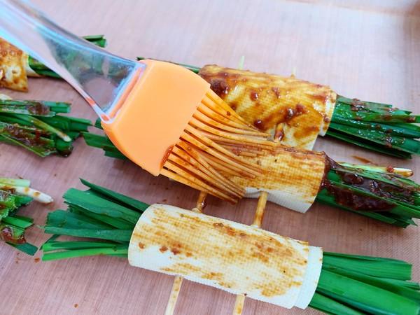 豆腐皮韭菜卷怎么炒