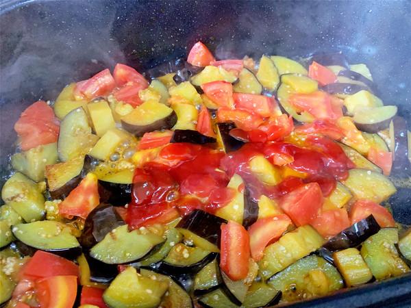 双茄烩鱼丸的简单做法