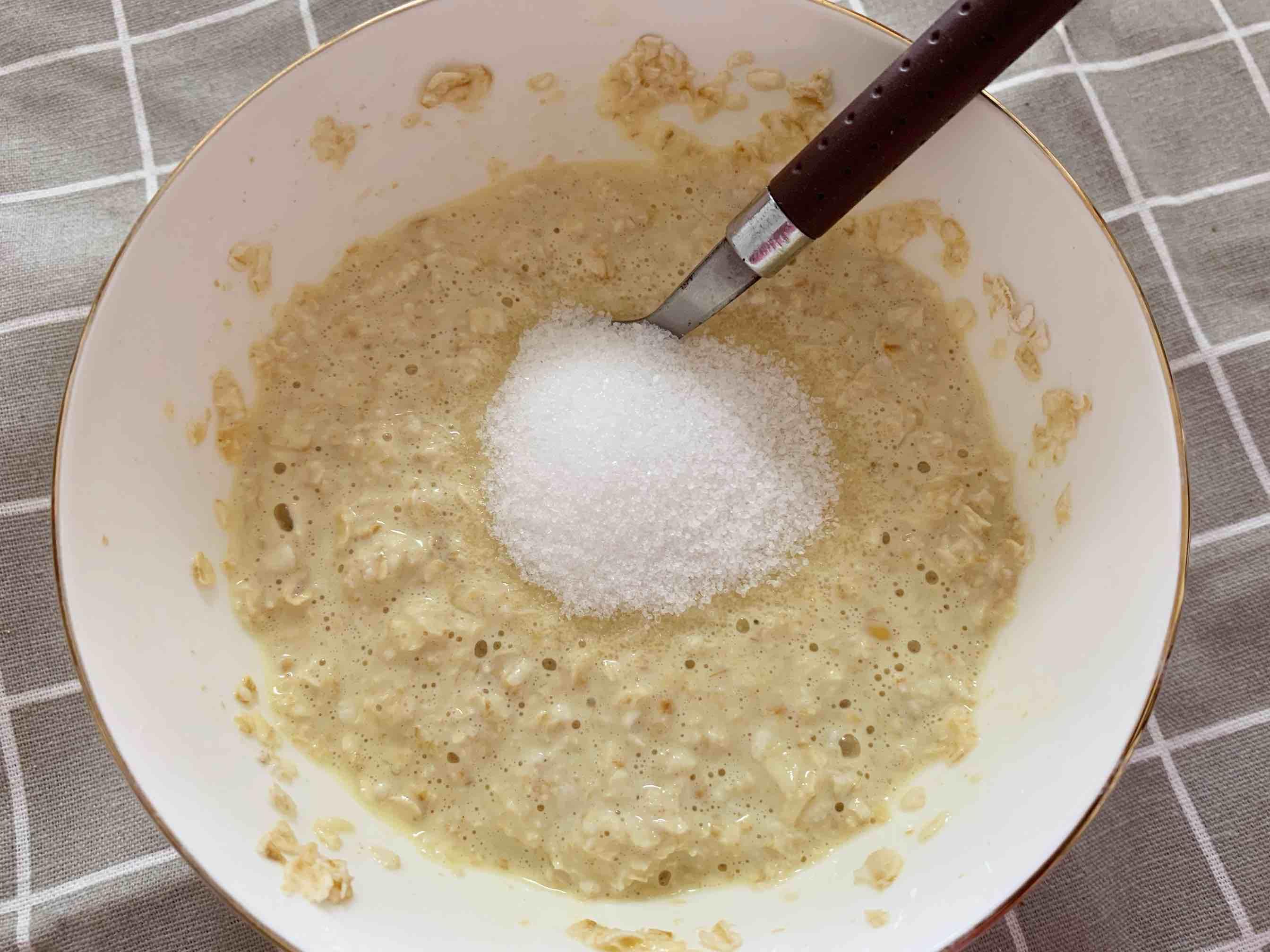 香蕉牛奶烤燕麦的简单做法