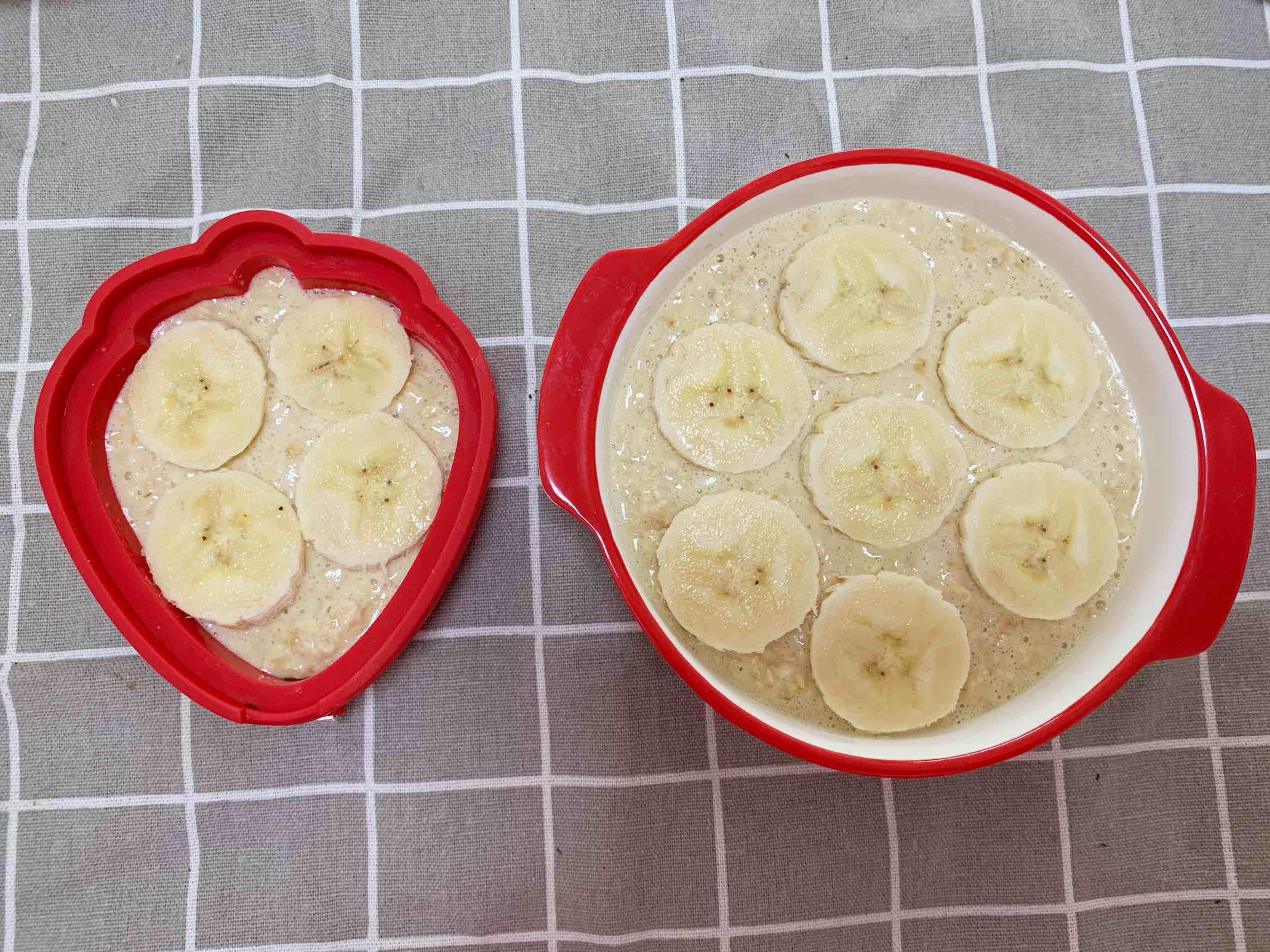 香蕉牛奶烤燕麦怎么做