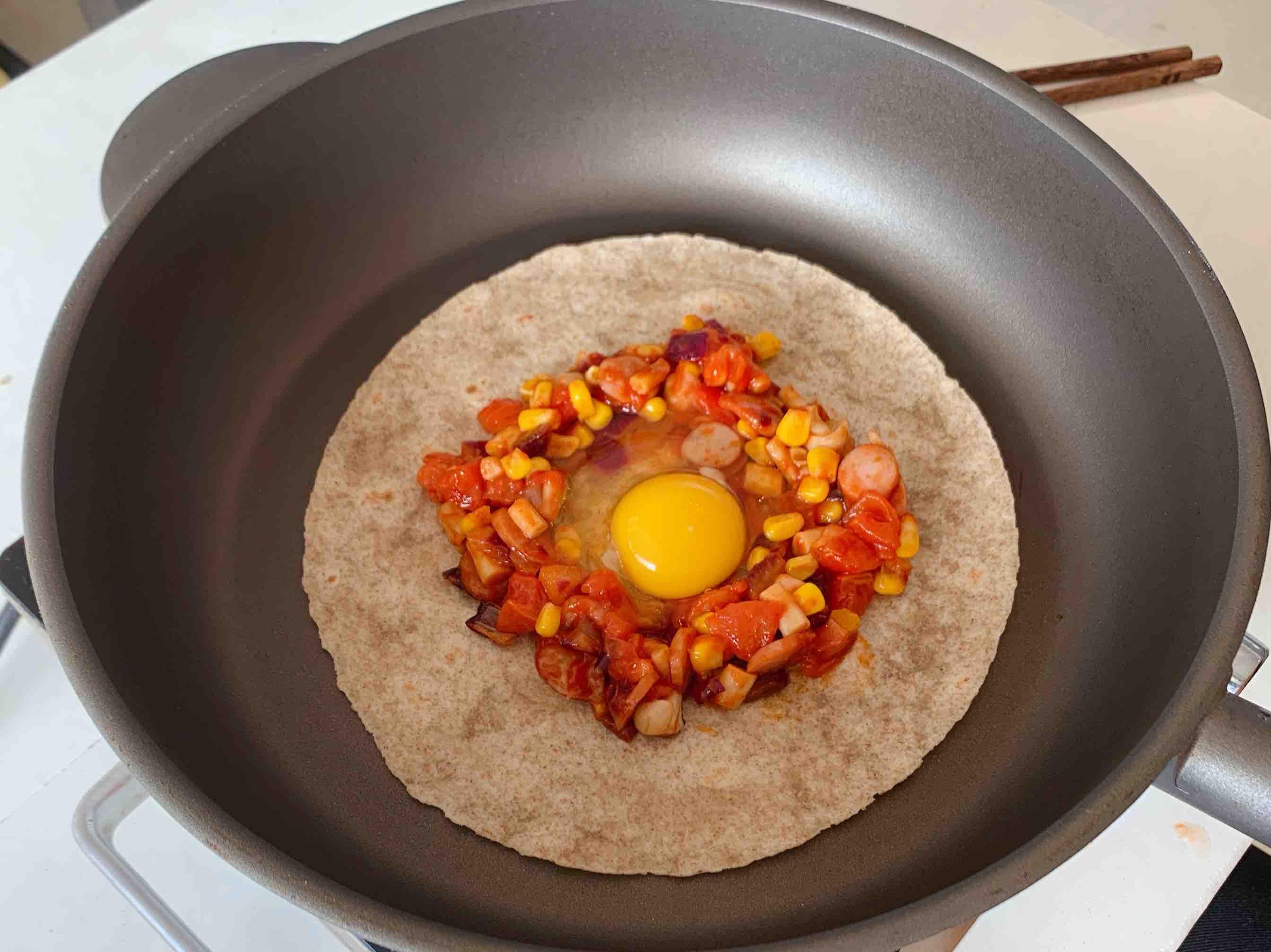 低脂低卡!北非蛋可丽饼,不用烤箱!的简单做法