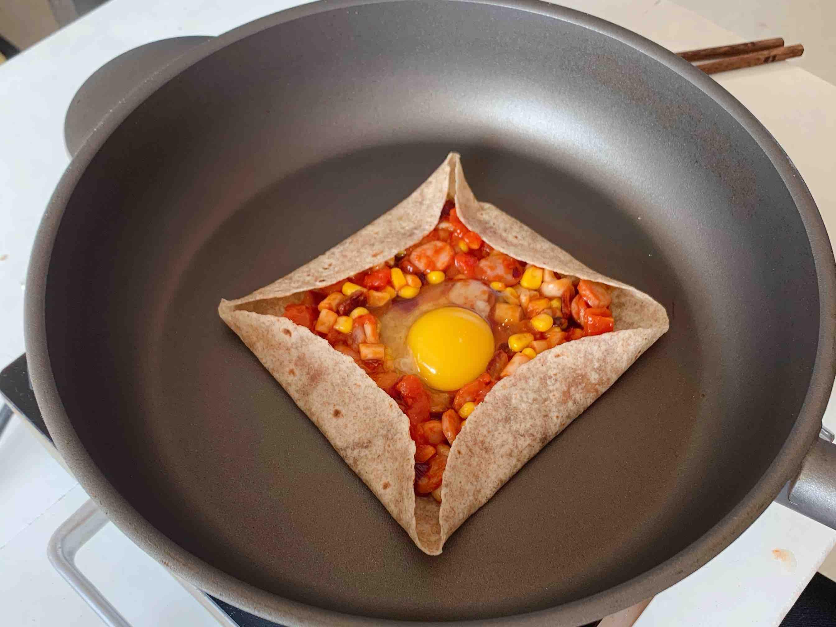 低脂低卡!北非蛋可丽饼,不用烤箱!怎么吃