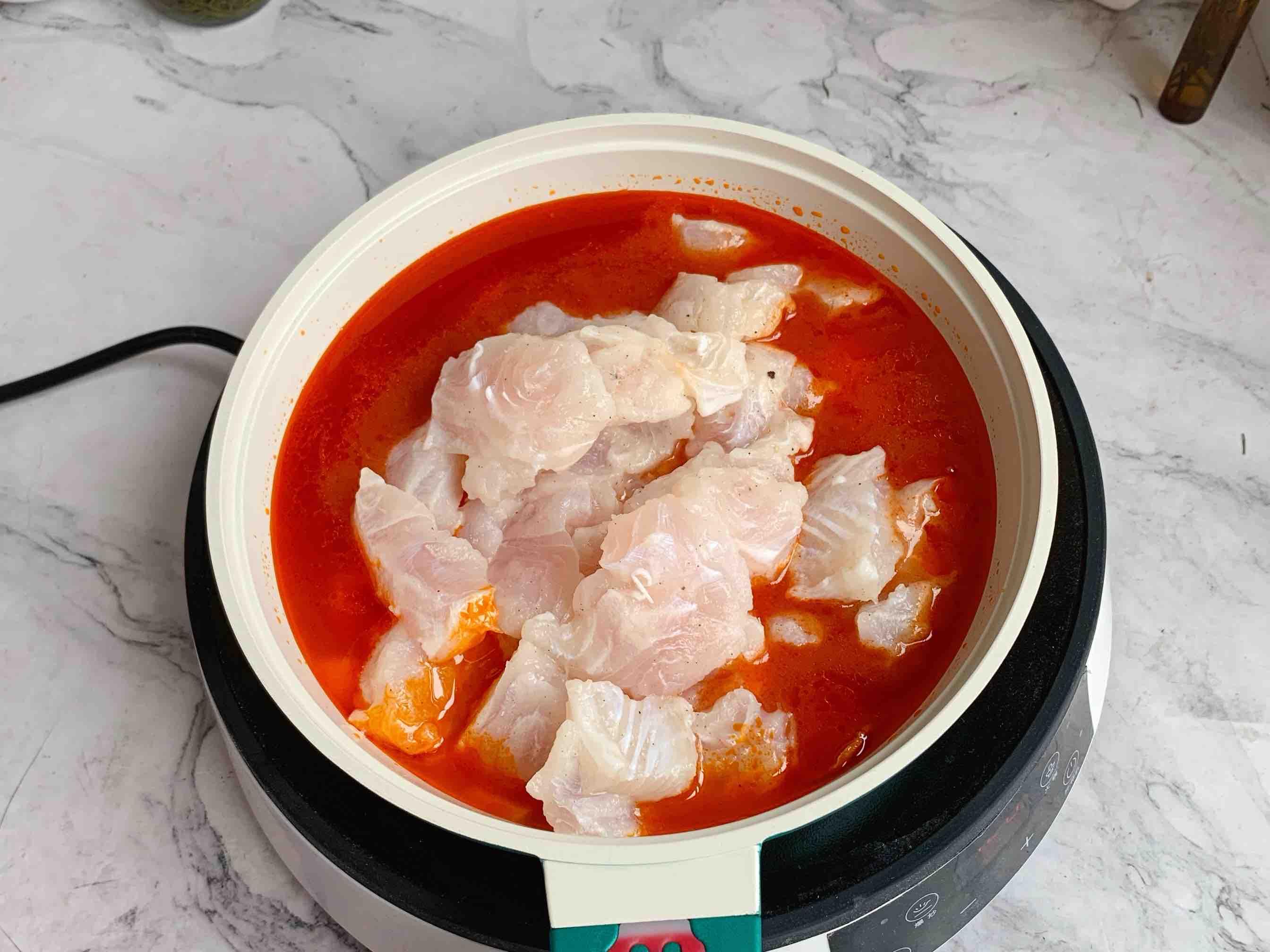 酸汤龙利鱼的简单做法