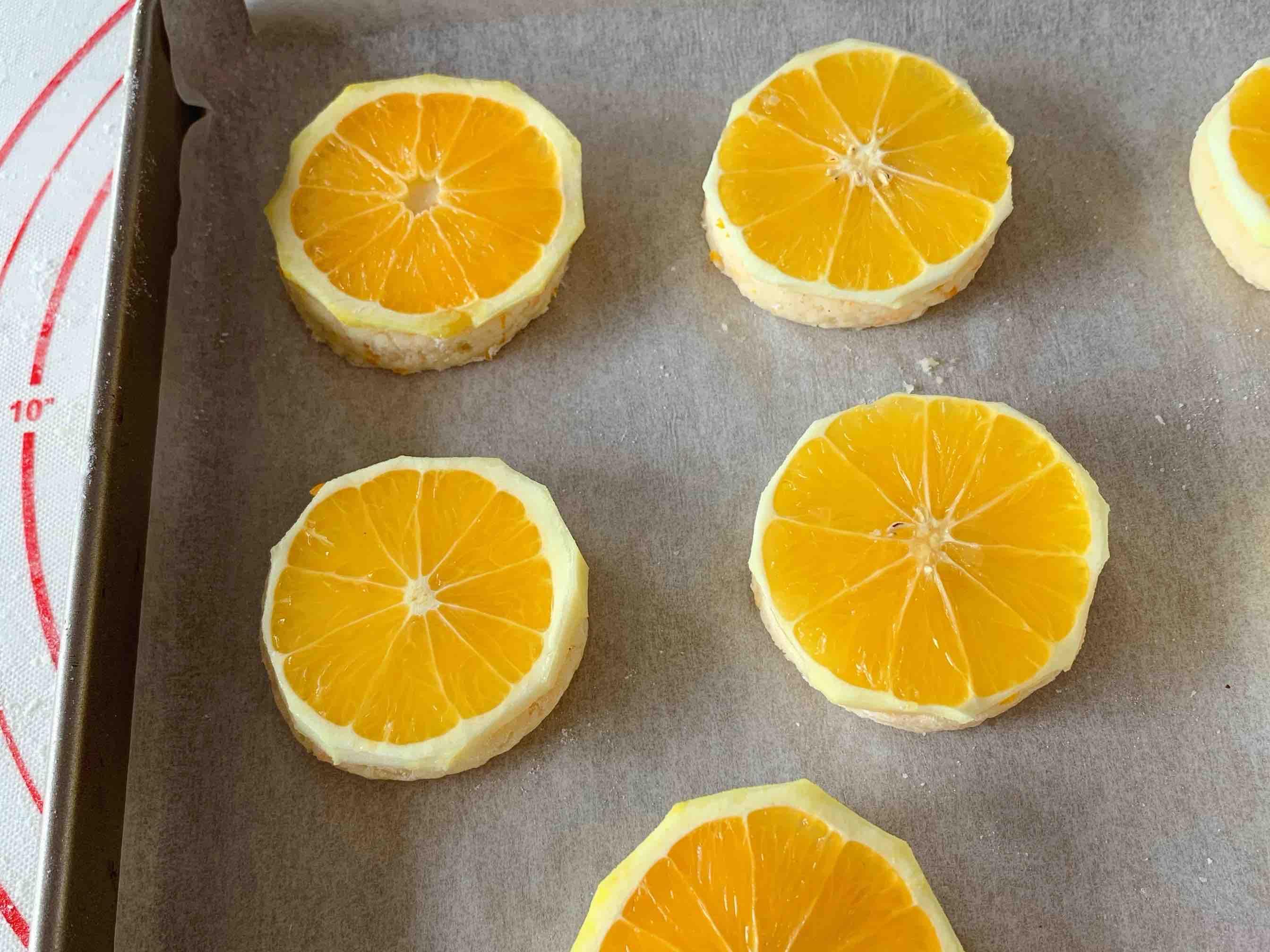 香橙司康的步骤