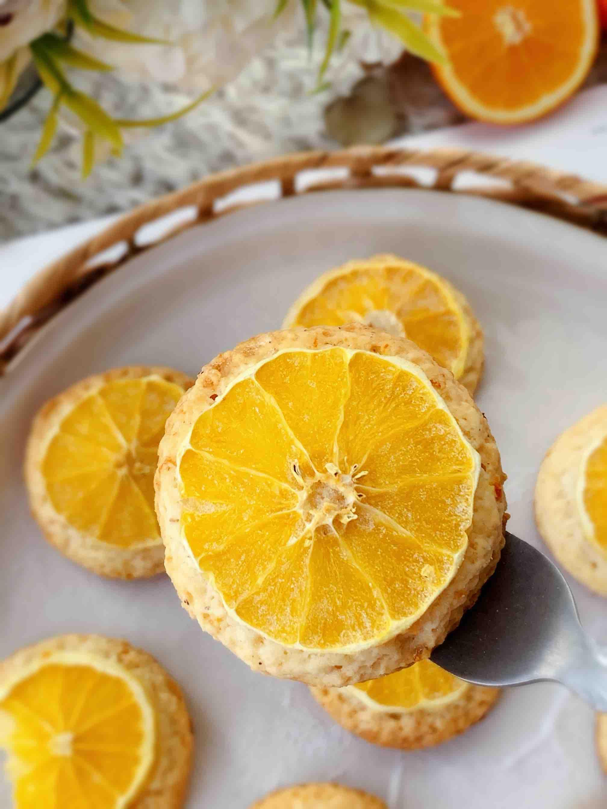 香橙司康成品图
