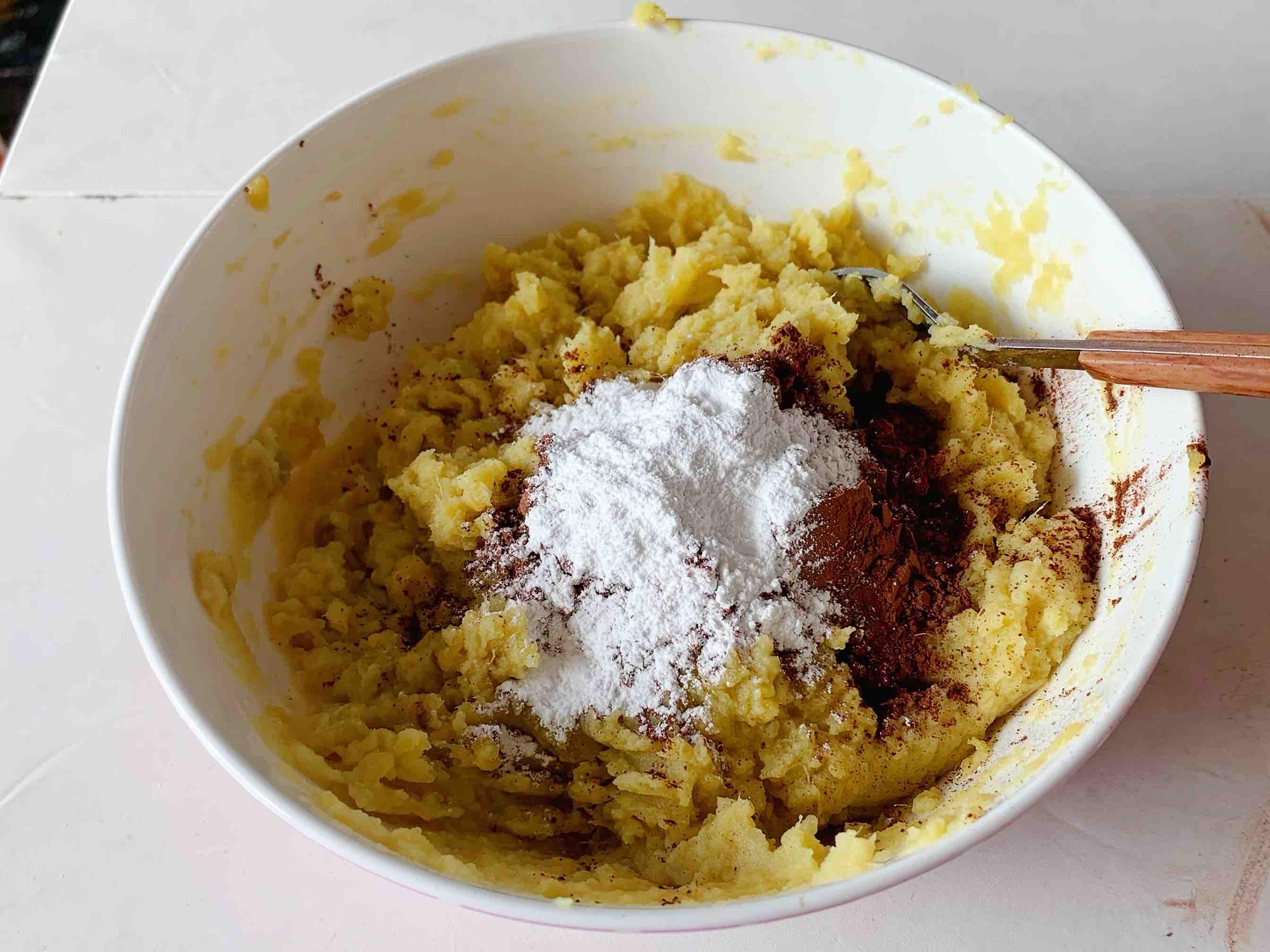 无油无糖无面粉‼️低卡布朗尼的做法图解