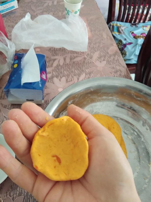 红豆沙馅南瓜饼怎么煮