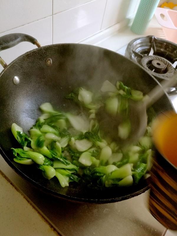 清炒小白菜的家常做法