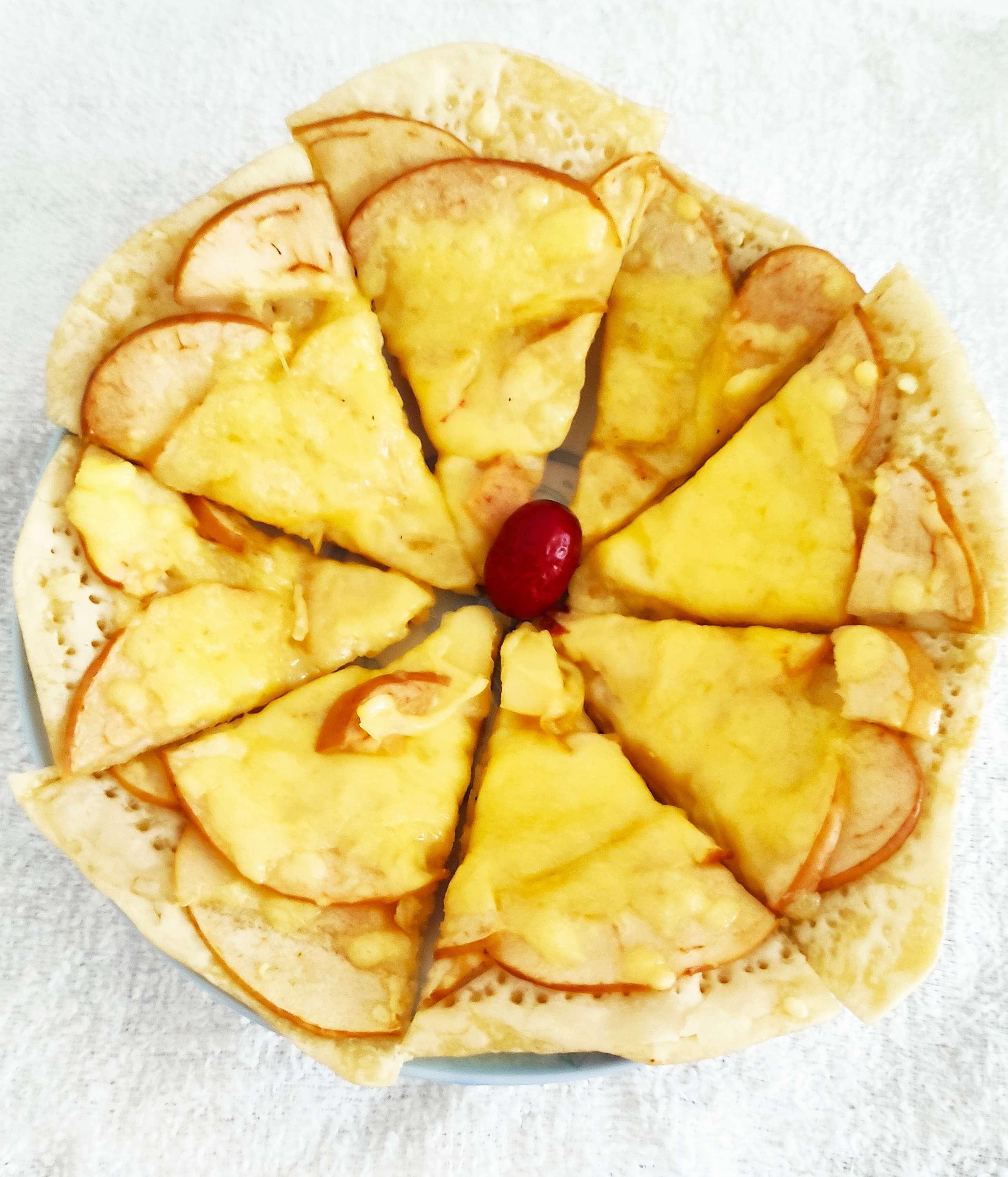 苹果披萨(电饼铛版)怎么炖