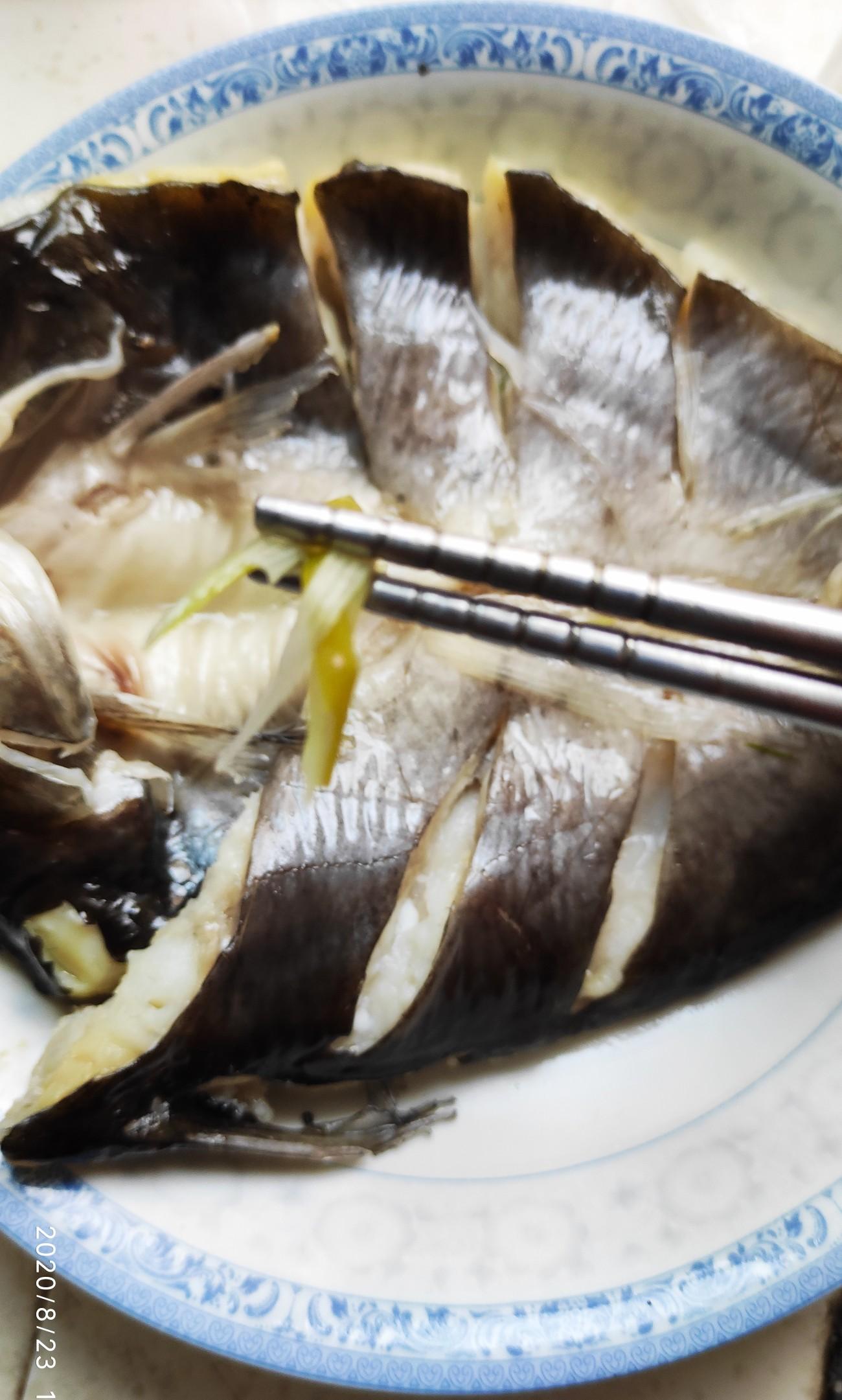 清蒸鮰鱼的步骤