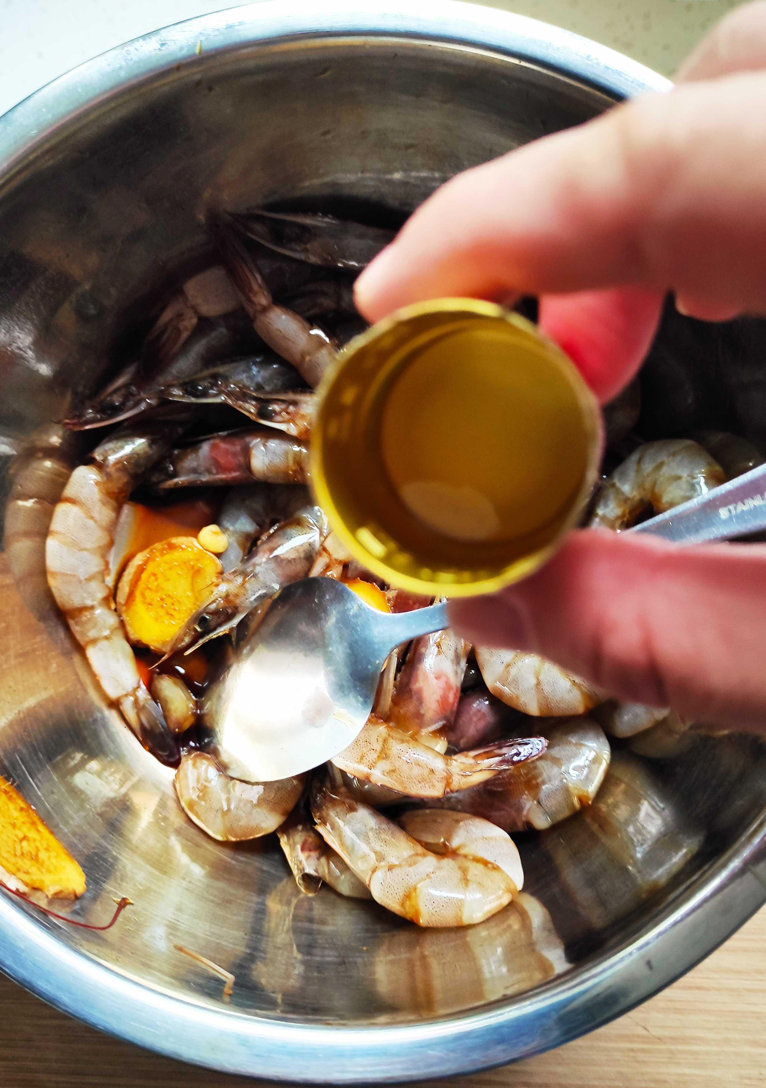 咖喱虾怎么做