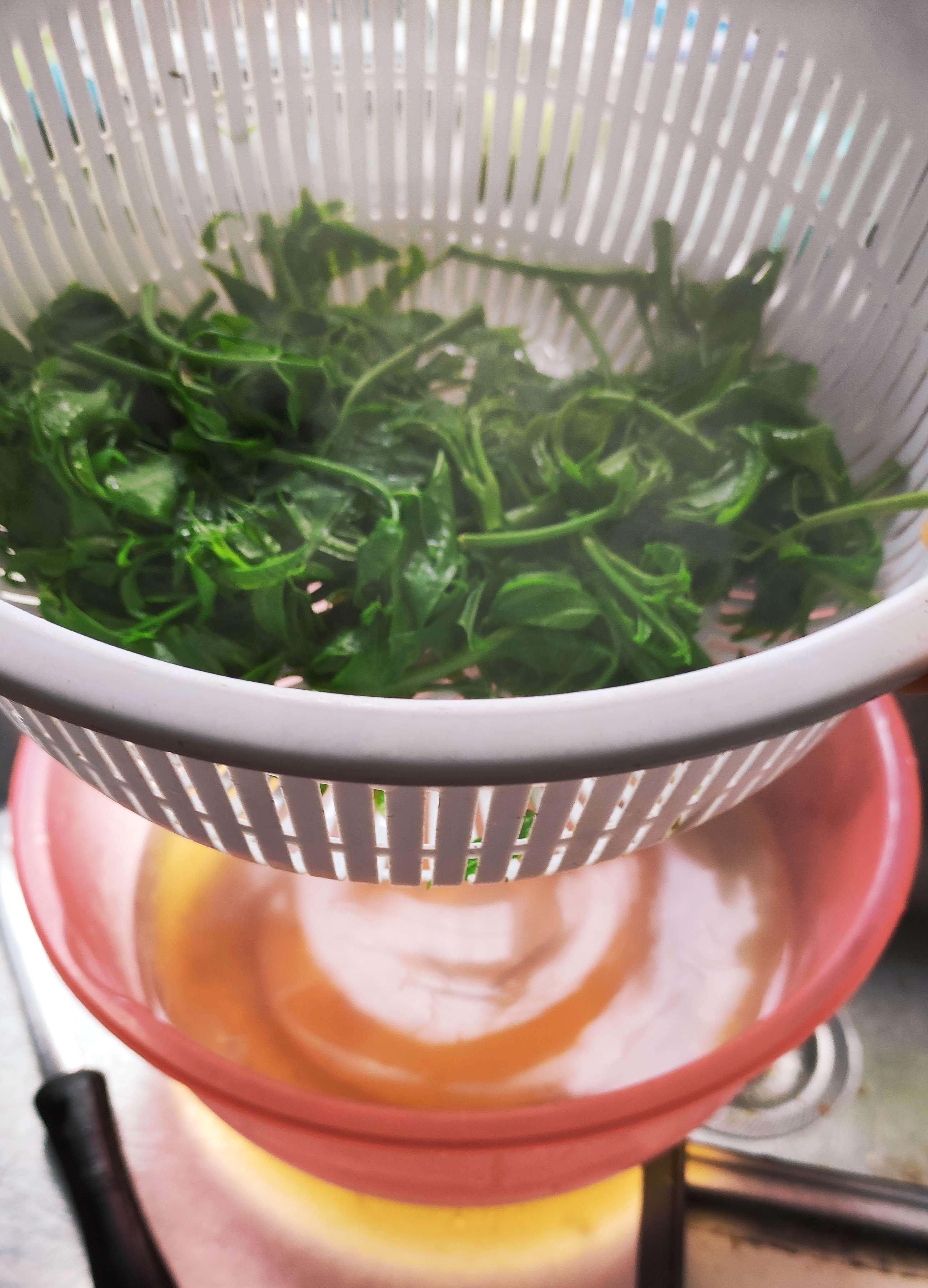 香椿炒鸡蛋,香椿要提前焯水后再炒鸡蛋味道更好的家常做法
