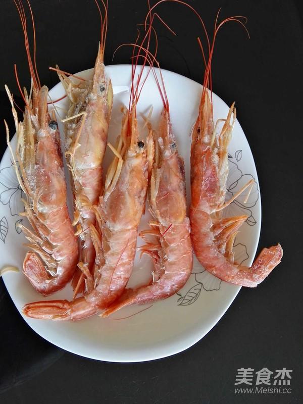 阿根廷红虾的做法_烤阿根廷红虾的做法_烤阿根廷红虾怎么做_小小怡恩_美食杰