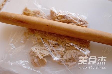 海苔肉松 面包机版的简单做法