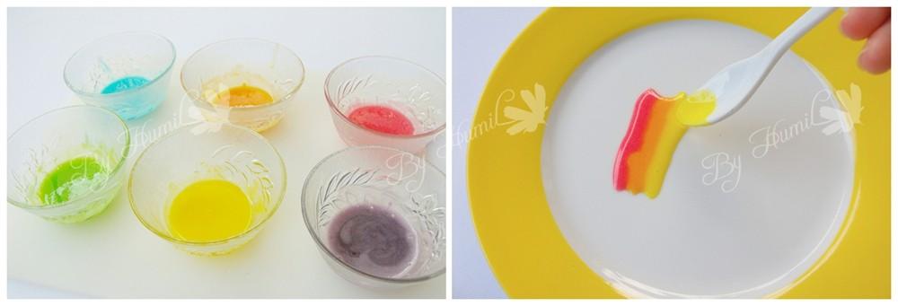 彩虹柠檬甜甜圈的简单做法