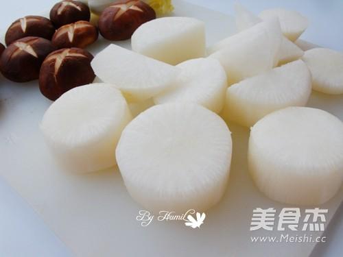 关东煮——鱿鱼海带锅的做法图解