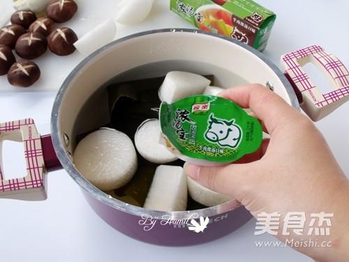 关东煮——鱿鱼海带锅的家常做法