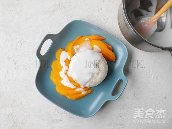 芒果糯米饭怎么炒