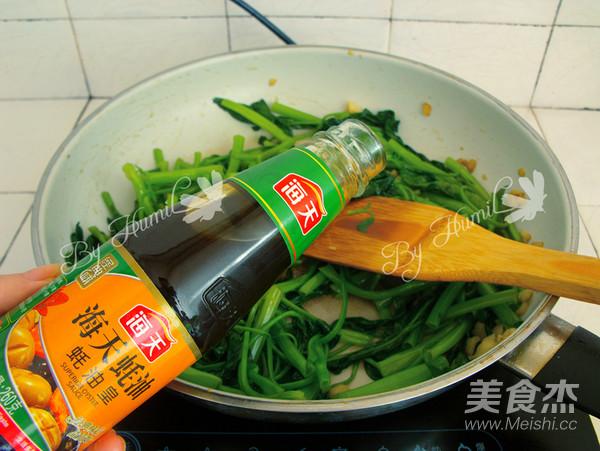 蚝油空心菜怎么吃