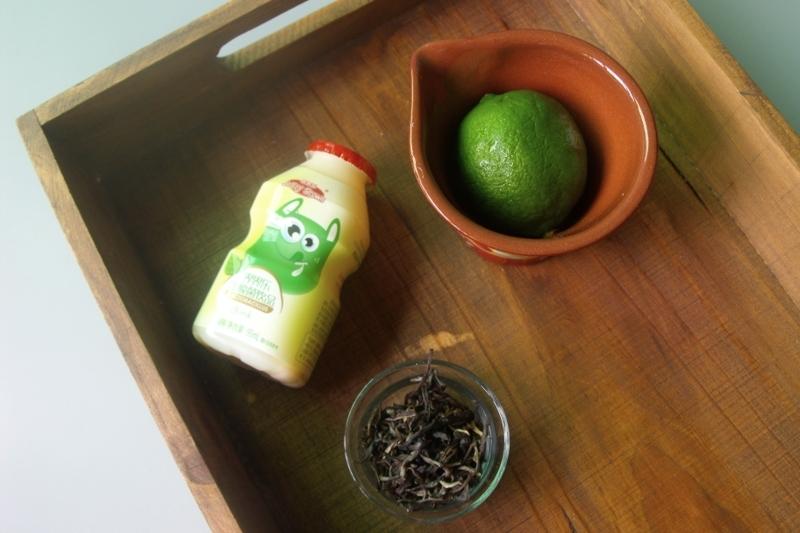乳酸菌绿茶柠檬饮的步骤