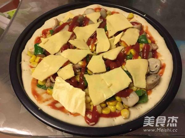 自制披萨怎么吃
