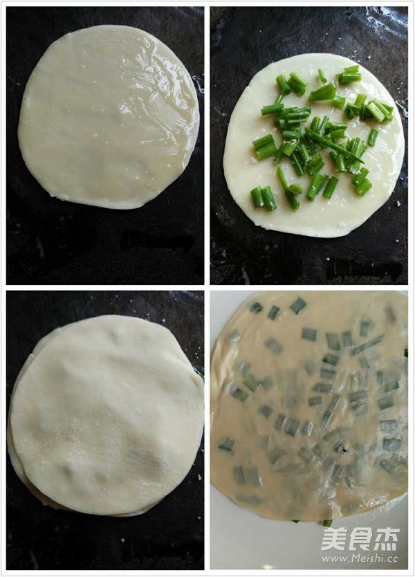 饺子皮葱油饼的家常做法