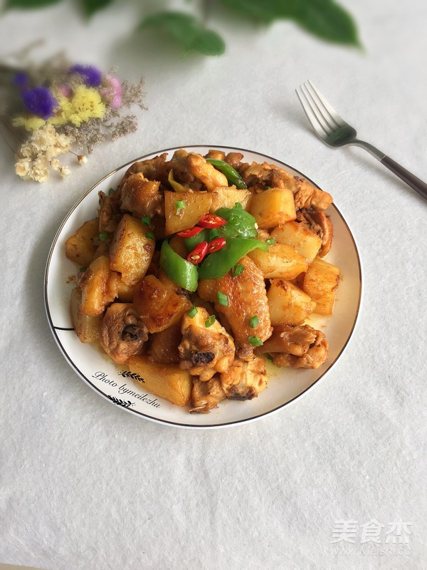 土豆焖鸡怎样煮