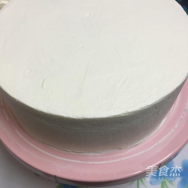8寸草莓蛋糕怎么炒