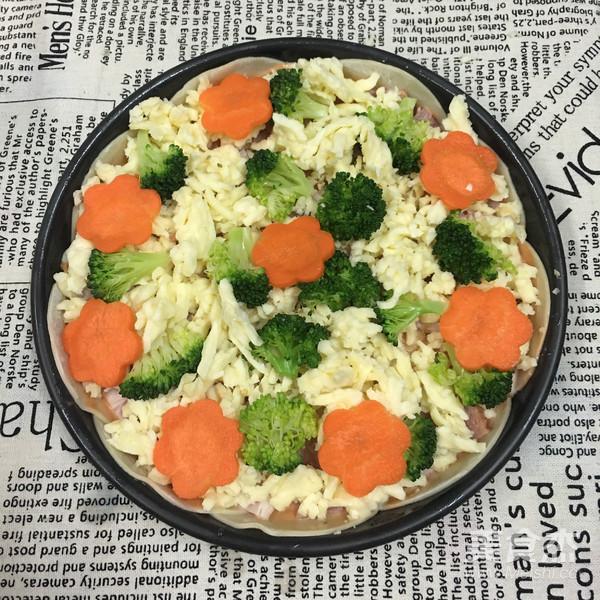 饺子皮披萨怎么做