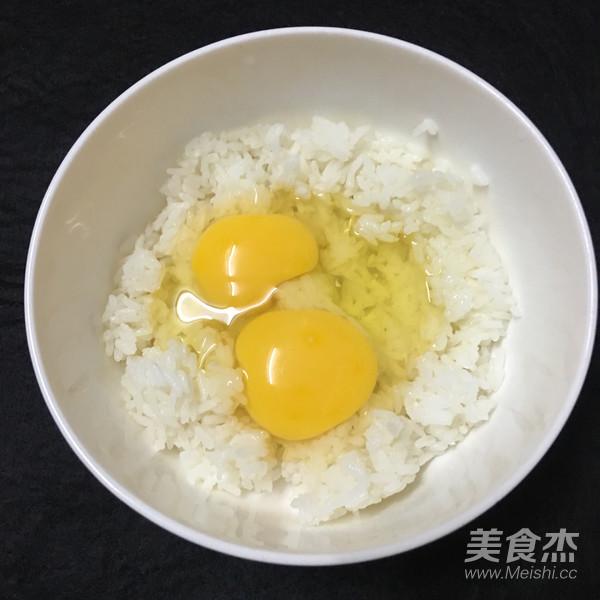 米饭鸡蛋饼的做法图解