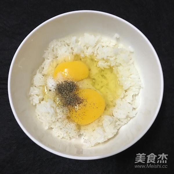 米饭鸡蛋饼的简单做法