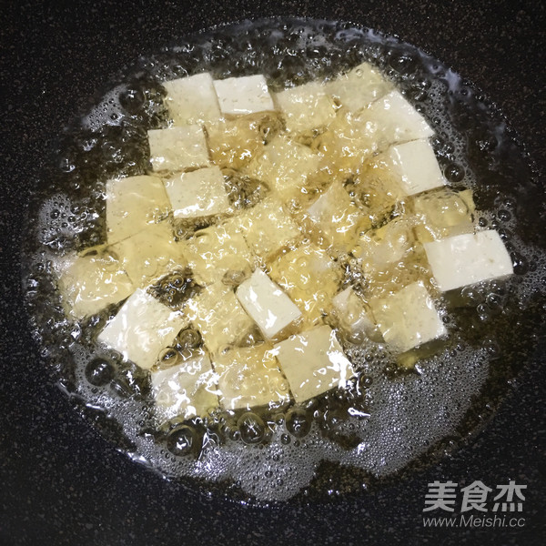 茄汁豆腐的步骤