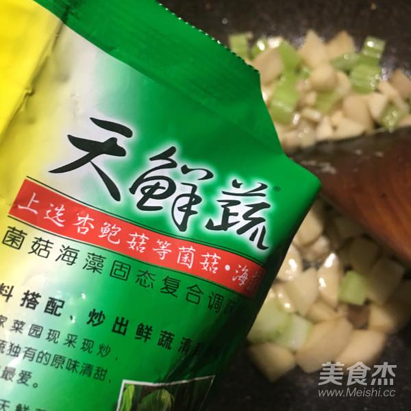 素炒杏鲍菇丁怎么煮