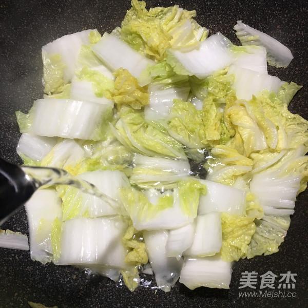 菌菇肉片白菜汤怎么炒