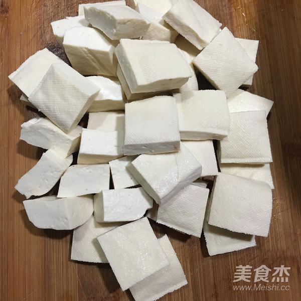 孜然葱花豆腐的做法大全