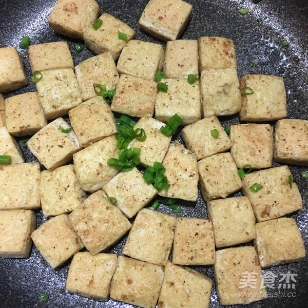 孜然葱花豆腐怎么吃