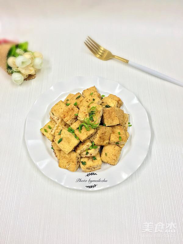 孜然葱花豆腐怎么做