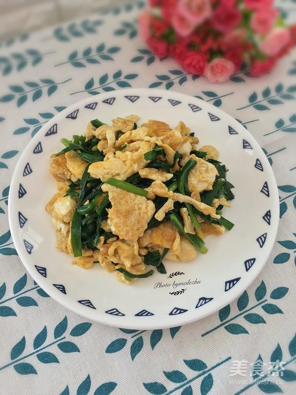 韭菜炒鸡蛋怎么煮