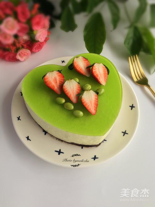 毛豆慕斯蛋糕的制作