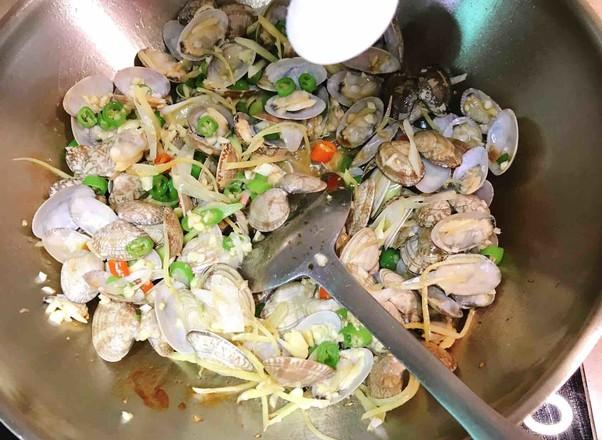 辣炒蛤蜊怎样做
