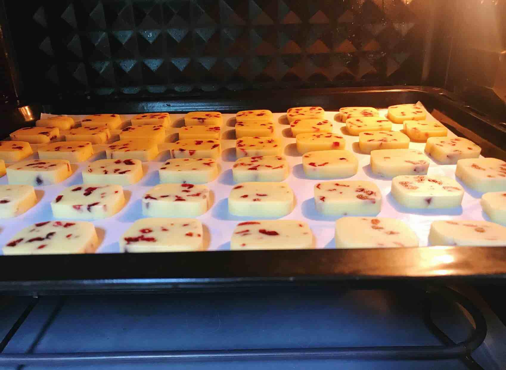 蔓越莓曲奇饼干怎样炒