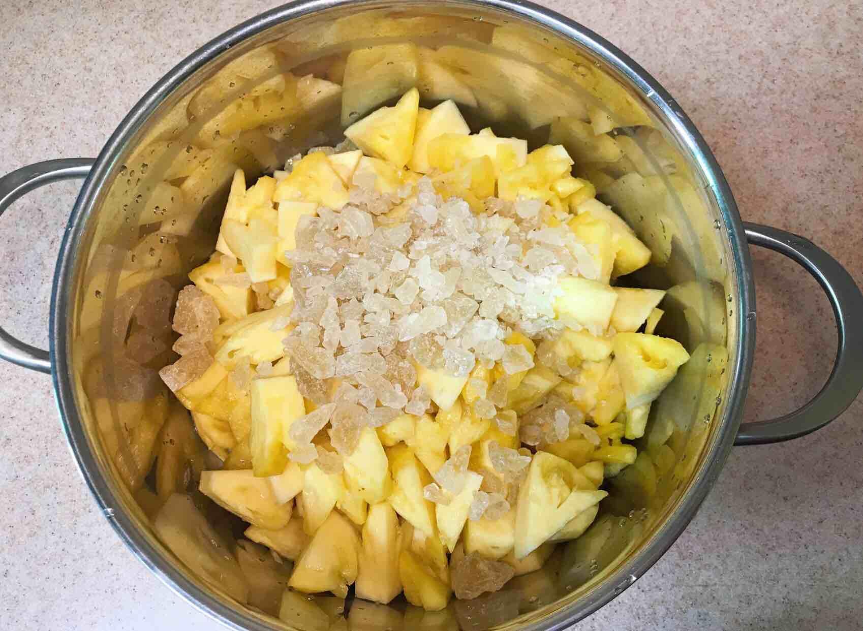 糖水菠萝的家常做法