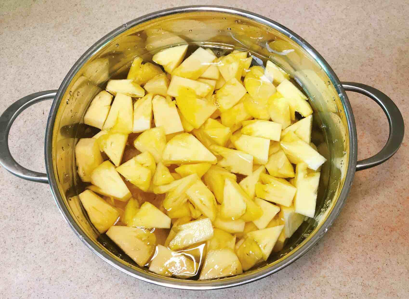 糖水菠萝的简单做法